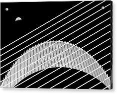 Two Moons Acrylic Print