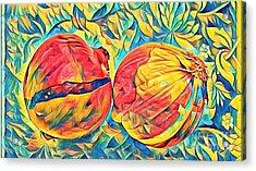 Two Onions Acrylic Print