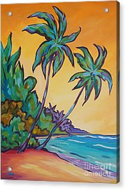 Two Palms Acrylic Print