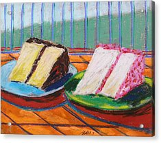 Two Slices Acrylic Print by John Williams