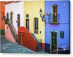 Two Staircases Acrylic Print