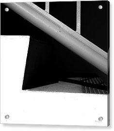 Two Steps Acrylic Print by Bob Orsillo