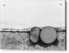 Two Stones - Sao Miguel - Azores Acrylic Print by Henry Krauzyk