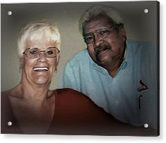 Two The Best Acrylic Print