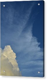 Two Tone Clouds 9384 Acrylic Print