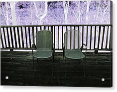 Two--version 2 Acrylic Print by Brooklyn Campagna