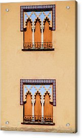 Two Windows Of Cordoba Acrylic Print by David Letts