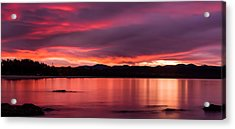 Twofold Bay Sunset Acrylic Print