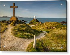 Twr Mawr Lighthouse Acrylic Print