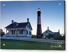 Tybee Island Lighthouse Acrylic Print by Patrick Shupert