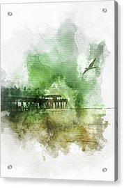 Tybee Island Pier Georgia Acrylic Print