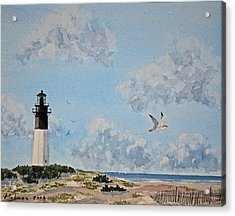 Tybee Light Savannah Acrylic Print