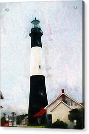Tybee Lighthouse - Coastal Acrylic Print