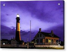 Tybee Purple Haze Acrylic Print