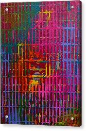 Tye Dye Acrylic Print