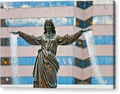 Tyler Davidson Fountain Acrylic Print