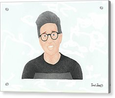 Tyler Oakley Acrylic Print