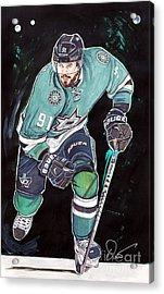 Tyler Seguin Acrylic Print by Dave Olsen