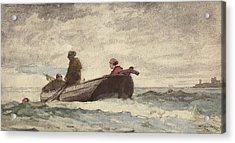 Tynemouth Priory Acrylic Print by Winslow Homer