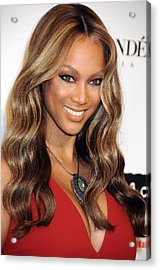 Tyra Banks At Arrivals For Keep A Child Acrylic Print by Everett