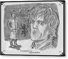 Tyrion Lannister-  Acrylic Print