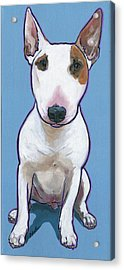 Acrylic Print featuring the painting Tyson by Nadi Spencer