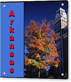 U Of A Old Main Acrylic Print