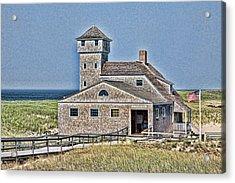 U S Lifesaving Station Acrylic Print