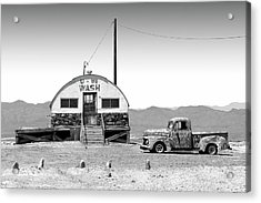 Acrylic Print featuring the photograph U - We Wash - Death Valley by Mike McGlothlen