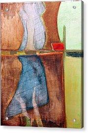 Acrylic Print featuring the painting Art Print U2 by Harry Gruenert