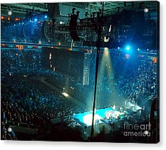 U2 Innocence And Experience Tour 2015 Opening At San Jose. 1 Acrylic Print