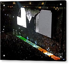 U2 Innocence And Experience Tour 2015 Opening At San Jose. 4 Acrylic Print
