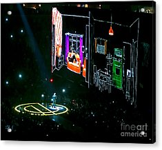 U2 Innocence And Experience Tour 2015 Opening At San Jose. 5 Acrylic Print
