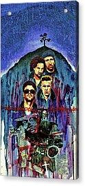 U2 Acrylic Print by Ken Meyer jr