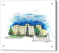 Ualr William H. Bowen School Of Law Acrylic Print