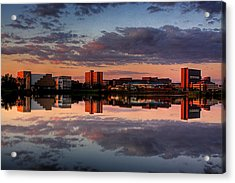 Ub Campus Across The Pond Acrylic Print