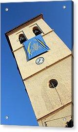 Ugijar Church 9 Acrylic Print by Jez C Self