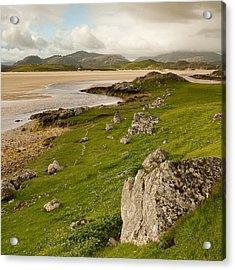 Uig Sands - Isle Of Lewis Acrylic Print