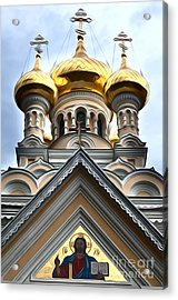 Ukrainian Church Acrylic Print