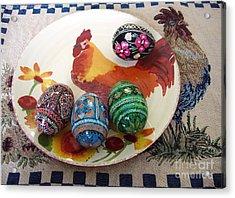 Ukrainian Pysanka Acrylic Print