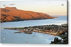Acrylic Print featuring the photograph Ullapool Morning Light by Grant Glendinning