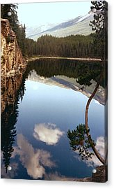 Ultimate Reflection Acrylic Print by Shirley Sirois