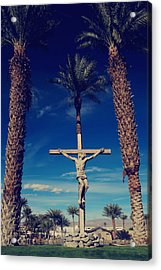 Ultimate Sacrifice Acrylic Print by Laurie Search