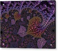 Ultra Leaf 1 Acrylic Print