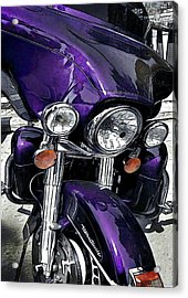 Ultra Purple Acrylic Print