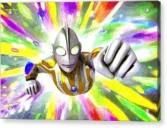 Ultraman - Da Acrylic Print