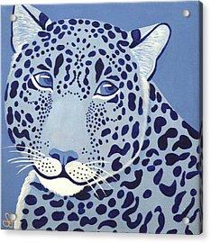Ultramarine Jaguar Acrylic Print