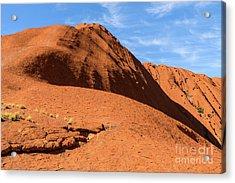 Acrylic Print featuring the photograph Uluru 04 by Werner Padarin