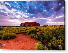 Acrylic Print featuring the photograph Uluru by Ulrich Schade