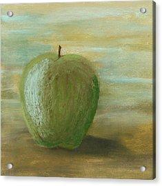 Umber Apple Acrylic Print